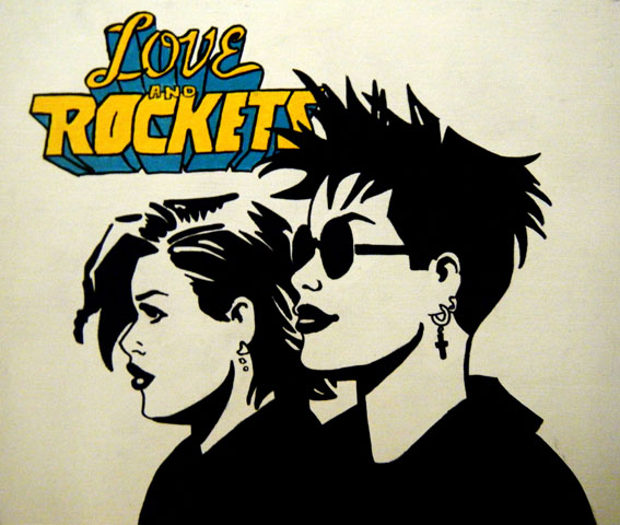 Love and Rockets Maggie and Hopey